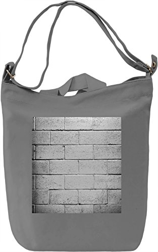 Wall Print Borsa Giornaliera Canvas Canvas Day Bag| 100% Premium Cotton Canvas| DTG Printing|