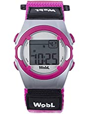 WobL - Pink 8 Alarm Vibration Reminder Watch