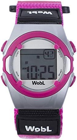 WobL - Pink 8 Alarm Vibrating Reminder Watch