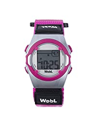WobL 8 Alarm Vibrating Watch - Pink