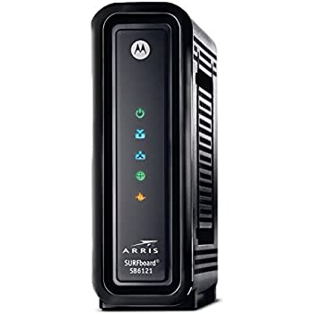 Amazon.com: ARRIS SURFboard DOCSIS 3.0 Cable Modem (SB6121) Time ...