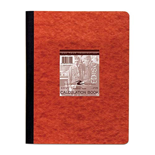Roaring Spring Computation Lab Book, 11 3/4'' x 9 1/8'', 152 pages, Buff Paper (2-Pack) by Roaring Spring (Image #1)
