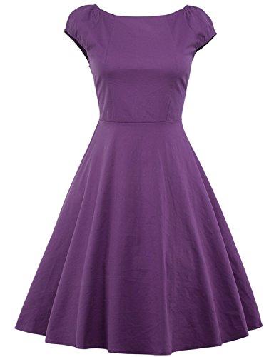 vintage-loves-retro-vintage-style-prom-dresses-white-dress-with-polka-dots-purple-m