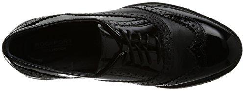 Rockport Total Motion Abelle Wing Tip, Sneaker Donna nero