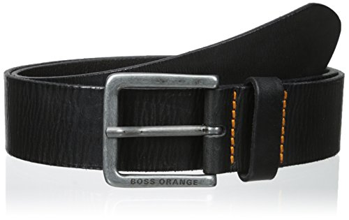 Boss Orange Men's Jeek Leather Belt, black, (Boss Leather)