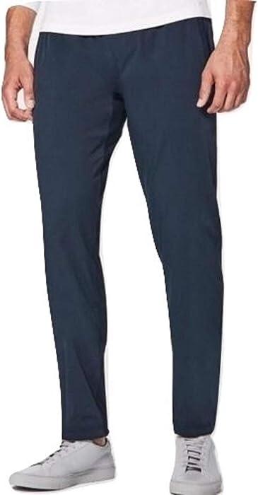 a1f79d83967721 Amazon.com: Lululemon Great Wall Pant Lined Durable Hike Run Walk Gym -Dark  Blue Size Medium: Clothing