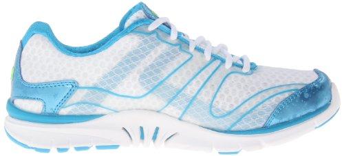 RYKÄ Dynamic Damen Core-Trainer Weiß/Blau Fitness Sneaker Größe 39