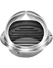 Tfg Stainless Steel Wall Ceiling Air Vent Round, Ventilation Waterproof Exhaust Grille Cover, Outlet Heat Cooling Air Vent