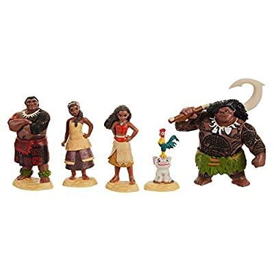 Moana Disney's Figure Set Toy Figure: Toys & Games