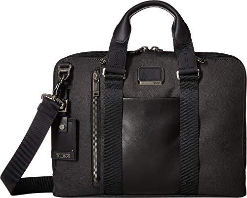 (Tumi Men's Alpha Bravo Aviano Slim Briefcase, Graphite, Grey, One Size)