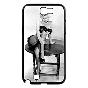 D-PAFD Diy Phone Case Marilyn Monroe Pattern Hard Case For Samsung Galaxy Note 2 N7100