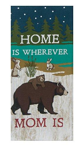 Kay Dee Designs R2999 Home Is Where Mom Is Tea Towel