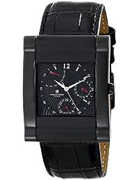 Charles-Hubert, Paris Men's 3950-B Premium Collection Analog Display Japanese Quartz Black Watch