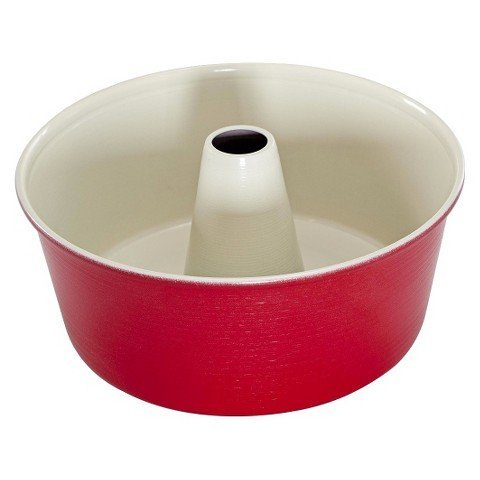 Angel Food Cake Pan-Red
