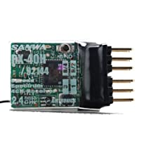 Airtonics RX40H 4-Channel Micro 2.4GHz Horizontal-Pin FHSS-1 Park Flyer RX