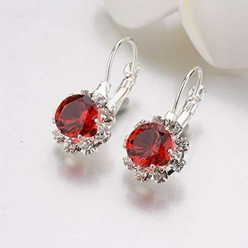 - Campton Fashion Woman Multicolor Gold Silver Plated Crystal Ear Hoop Earrings Jewelry | Model ERRNGS - 774 |