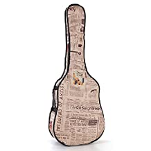 Water-Proof 420D Oxford Material Outside With Contton Padded Folk Guitar Bag Gig Bag Case For 41 42 Inches