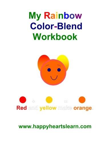 My Rainbow Color Blend Workbook
