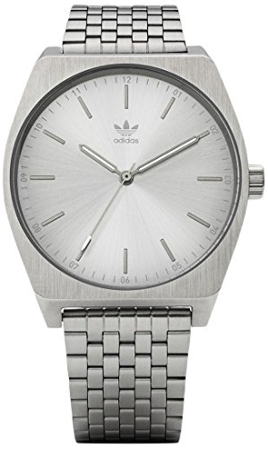 Adidas Men's Analogue Quartz Watch with Stainless Steel Strap Z02-1920-00 ()
