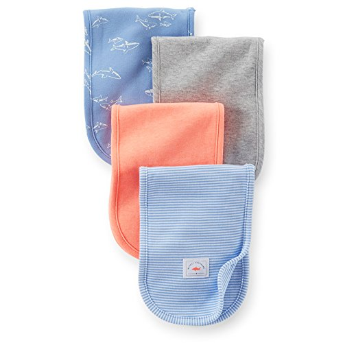 Carters Baby 4 pack Cloths Blue Multi