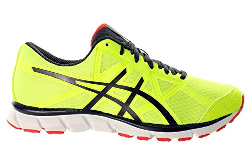 Asics , Herren Outdoor Fitnessschuhe FLASH YELLOW/BLACK/CHINESE RED, - FLASH YELLOW/BLACK/CHINESE RED - Größe: 47 EU