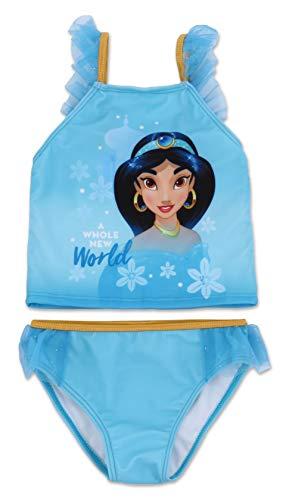 Girls Disney Princess Two Piece Swimsuit 6X