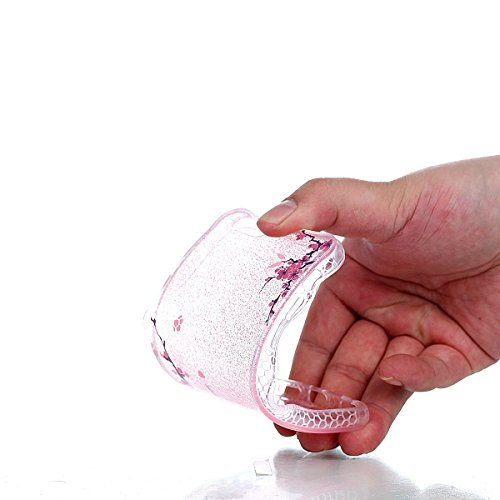 Funda iPhone 6 Sunroyal - Funda de Silicona de gel TPU Semitransparent Flexible Carcasa iPhone 6S Ultra Delgada Caja del Teléfono , Resistente a los Arañazos , Amortigua los Golpes , Protectora Anti-g B-10