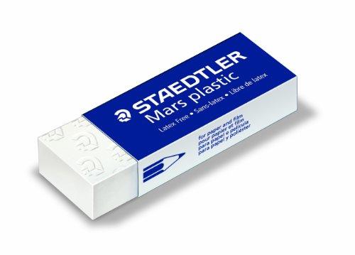 Staedtler Mars Plastic Erasers,Pack of 4 (52650BK4)