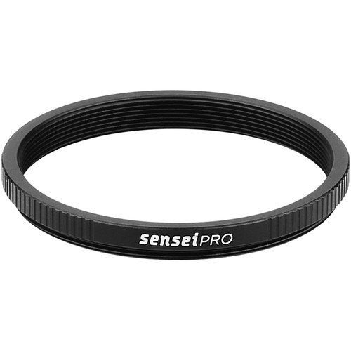 Sensei PRO 52mm Lens to 49mm Filter Aluminum Step-Down Ring(6 Pack) by Unknown