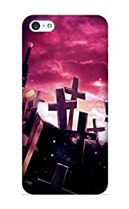 Cute High Quality Iphone 5c Anime Black Rock Shooter Case Provided By Stylishgojkqt