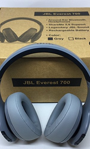 JBL Everest 700 Headphones, Gray (Refurbished)
