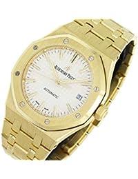 Royal Oak Automatic-self-Wind Male Watch 15450BA.OO.1256BA.01 (Certified Pre-Owned)