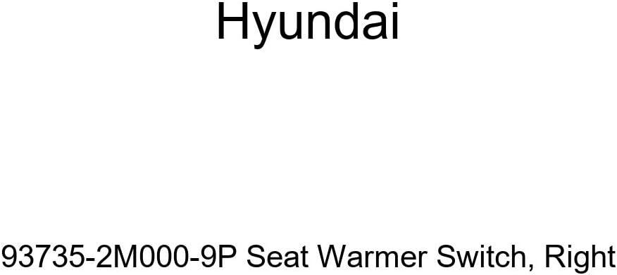 Genuine Hyundai 93735-2M000-9P Seat Warmer Switch Right