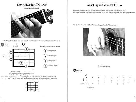 Mis Guitarra Escuela Facilidad con CD y Dunlop Púa – Asas acorde ...