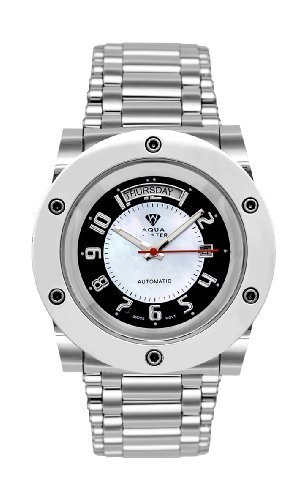 NEW! Aqua Master Men's Magnum Automatic Watch with Skeleton Back by Aqua Master
