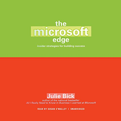 The Microsoft Edge: Insider Strategies for Building Success by Blackstone Audio, Inc.