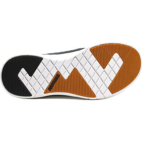 Supra Methode Skate Schuh Dunkelgrau-weiß