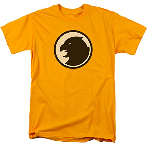 Hawkman DC Comics T Shirt & Exclusive Stickers (X-Large) Yellow (Best Place To Sell Comics)