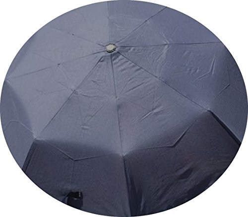 Price comparison product image Umbrella with LED Light for Safety,  21 Inch Auto Open and Close (Navy)