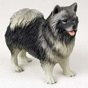 Keeshond – Figurine – Gift for Dog Lovers