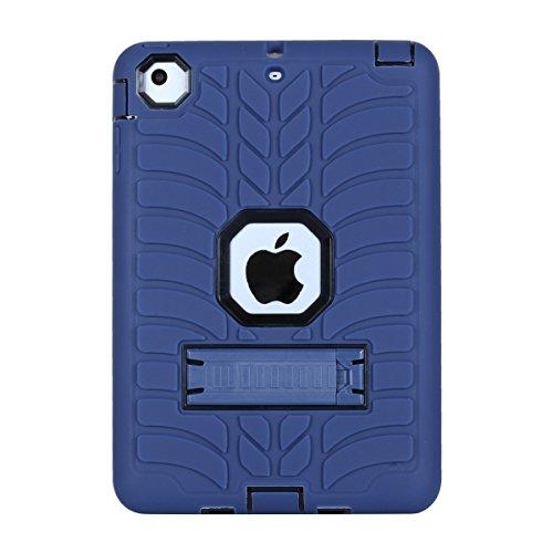 iPad Mini 1 2 3, iPad Mini 1 2 3 Case, BasicStock Max Durable Hybrid Slim 360° Protection Shock Absorbing Full Body Shockproof Back case Case for iPad Mini 1 2 3