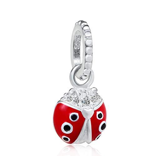 Ladybug Charm 925 Sterling...