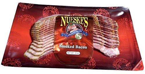 Smoked Bacon, SLICED (Nueskes) 12 - Nueske Bacon