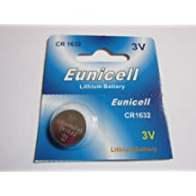 1 Pcs CR1632 CR 1632 - 3V Eunicell Lithium Button Cell Battery Batteries - BRAND NEW IN FACTORY PACKAGING