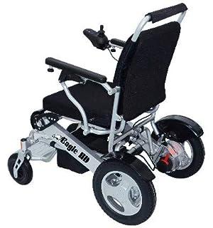 Amazon.com: Electra 7 - Silla de ruedas plegable, color azul ...