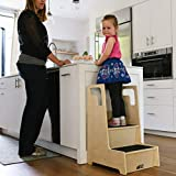 ECR4Kids ELR-17429 Reach-Up Step Stool with Support