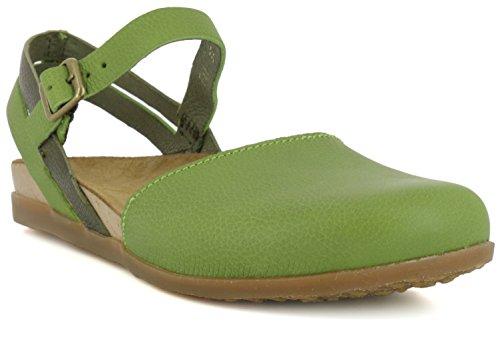 donna fibbia verde El con Nf41 Fibbia Naturalista Green Soft Grain Zumaia Tq8wv7wZ