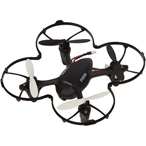 Quad Mini Video (Helizone Sparrow Mini Drone with 2 MP HD Camera Quadcopter For Video Recording with 4 GB Card, Headless Mode 3 Speed 2.4 Ghz 6 Axis Gyro with Bonus Propeller Guard Great for Beginners)