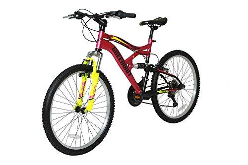mtb Vliegen 18 snelheden Mountainbikes Fietsen Staal Frame V Remmen met Garantie Licht Gewicht