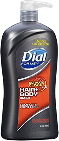 Dial for Men Hair + Body Wash, Ultimate Clean, 32 Fluid Ounces 11868